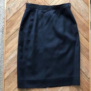 Valentino Vintage Pencil Skirt